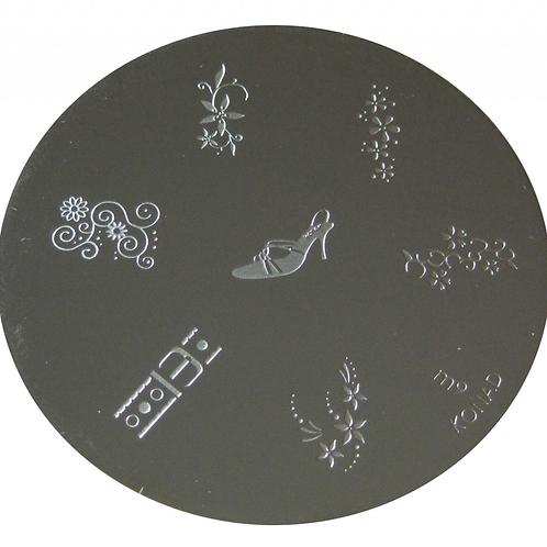 Konad Image Plate - M9