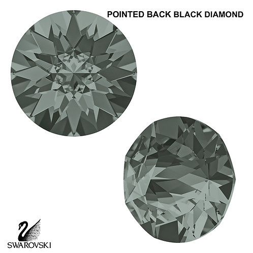 PP32 Swarovski Crystal Pointed Back