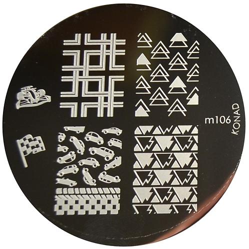 Konad Image Plate - M106