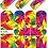 Thumbnail: WATER DECAL - N346 RAINBOW HAIR