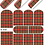 Thumbnail: WATER DECAL - N698 PLAID KILT