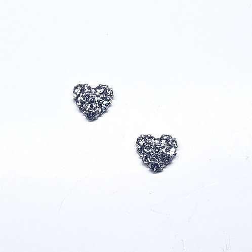 Crystal Heart (2pc)