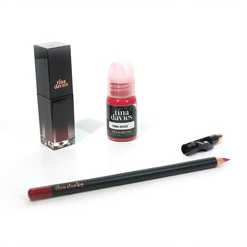 I 💋 INK Lip Trios - Pink Rose