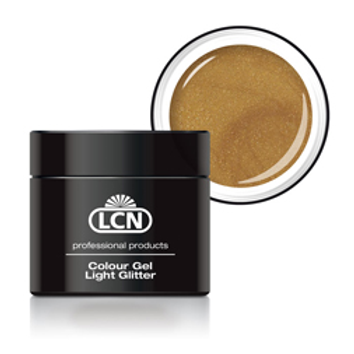 LCN LIGHT GLITTER GEL - #6 EXTREME GOLD 5ML