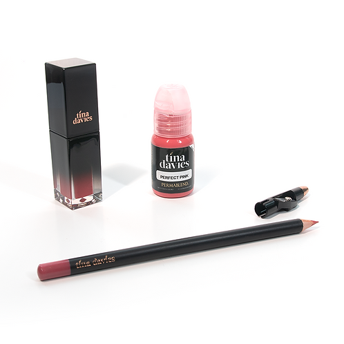 I 💋 INK Lip Trios - Perfect Pink