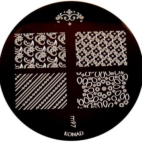 Konad Image Plate - M97