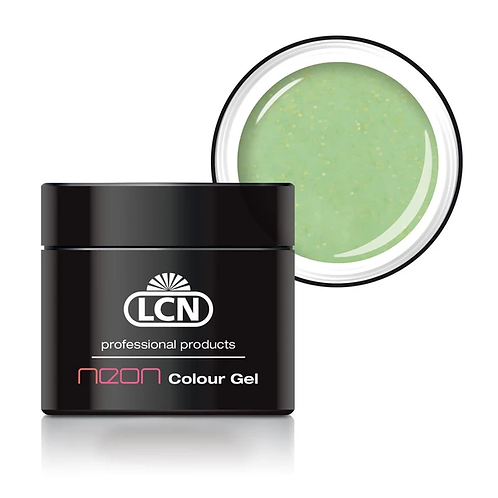LCN Colour Gel Neon - #4 Glitter Yellow 5ml