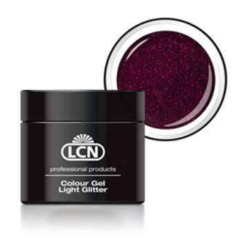 LCN LIGHT GLITTER GEL - #7 DELIGHT PINK 5ML