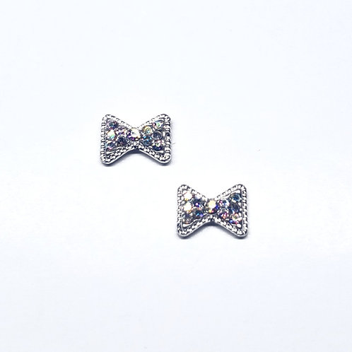 Crystal Mini Bow (2pc)