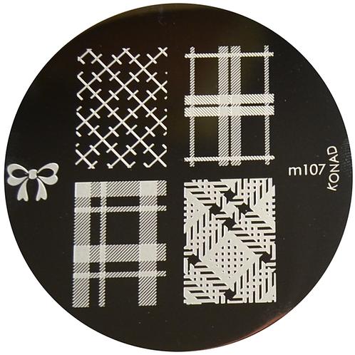 Konad Image Plate - M107