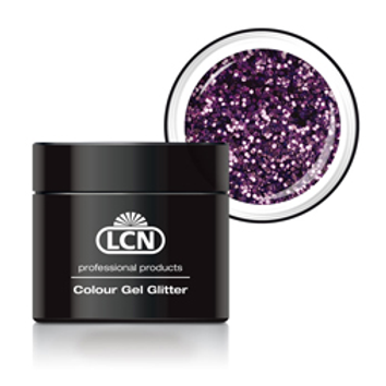 LCN GLITTER GEL - #5 LAVENDER 5ML