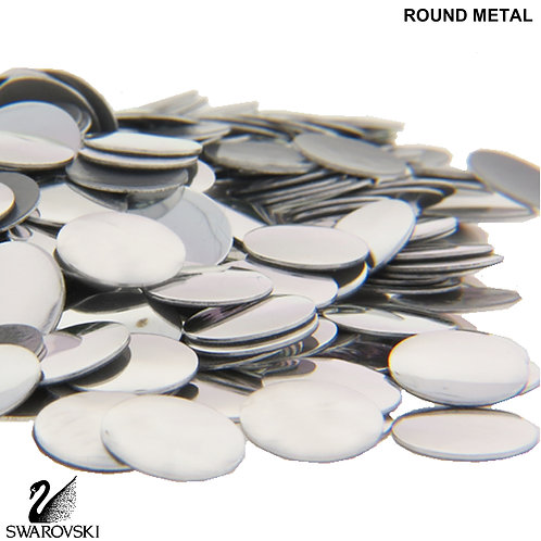 Swarovski Round Metal (48pc)
