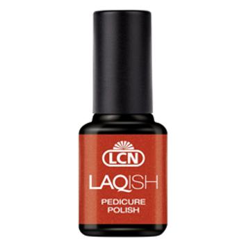LAQUISH PEDICURE POLISH - #8 FOUND GOLD AT THE BEACH 8ML