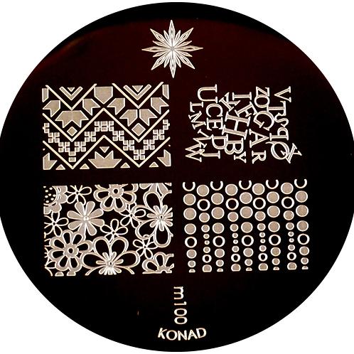 Konad Image Plate - M100