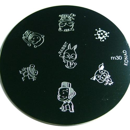 Konad Image Plate - M30