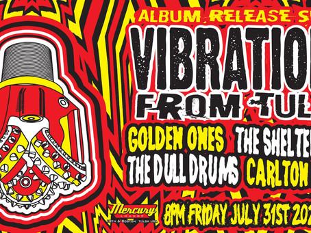 Vibrations From Tulsa: Album Release Show Announcement
