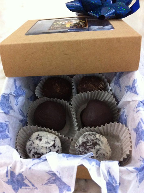 Assorted Truffles - Gift Box With 12