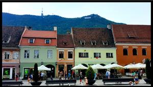 Shops in Brasov, Romania