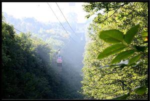 Cable Car in Brasov, Romania