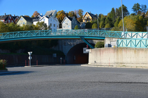 A Tunnel used for traffic in Tromso, Norway