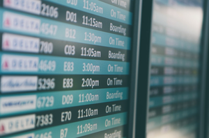 What if your flight is delayed and you are going to miss your connecting flight?