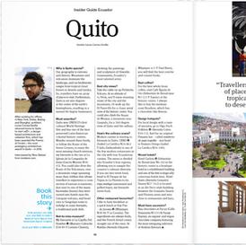 Inside Quito Ecuador