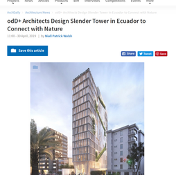 odD+ Designs Slender Tower in Ecuador
