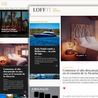 Place du Port en portada de Loff.it, el portal de tendencias y lifestyle