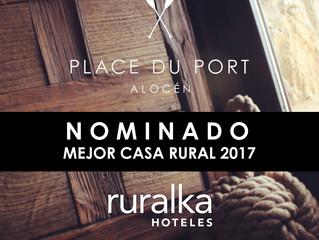 ¡Nominados a mejor Casa Rural 2017!