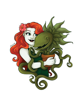 Poison Ivy and a Plant