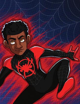 Spider Verse Miles