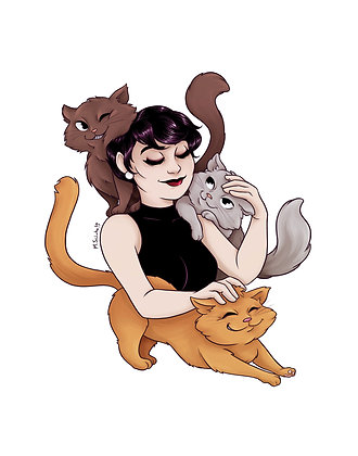 Catwoman and Kitties
