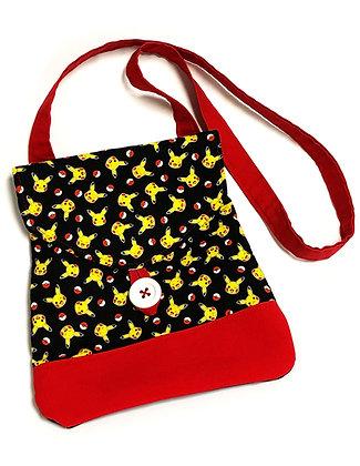 Pikachu Button Shoulder Bag