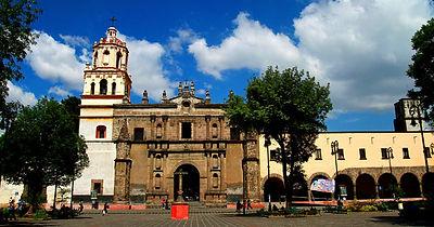 CENTRO DE LA ALCALDÍA COYOACÁN. Ciudad de México. Paseos Virtuales