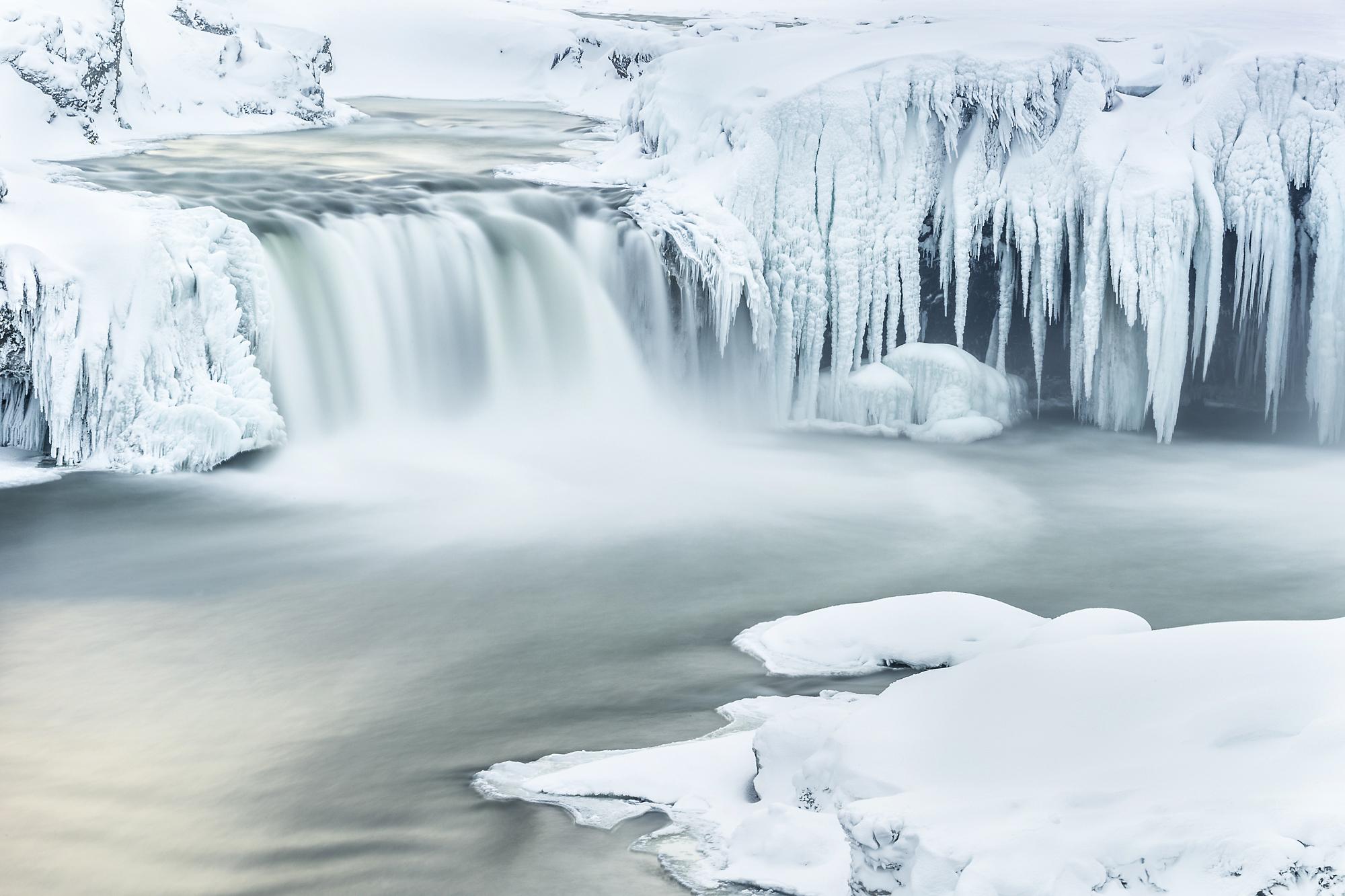 Frozen Godafoss
