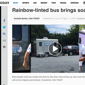 Hope Thru Soap - USA Today Humankind Video Viewed over 44.5 Million times on Facebook!