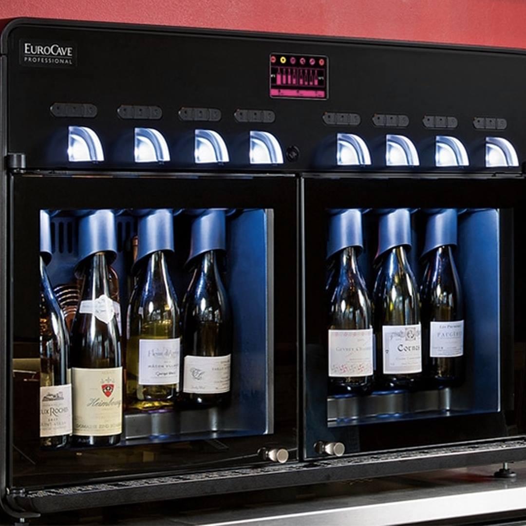Eurocave : le vin au verre 8.0