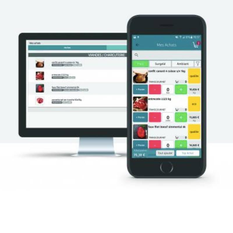 Ouilink, l'application gratuite pour les achats de votre restaurant