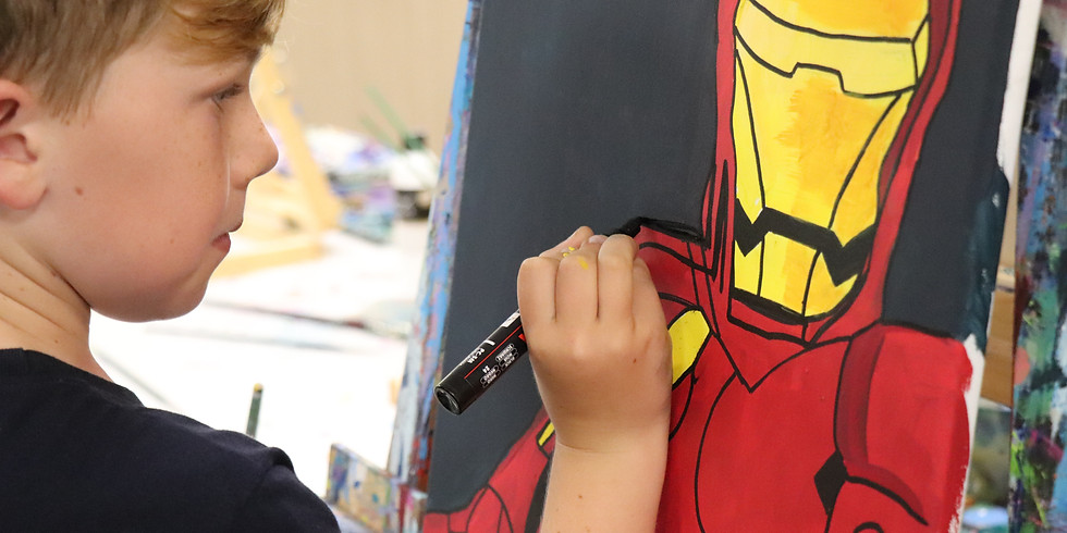 Painting Class Wednesday 1st July 1pm - 4pm