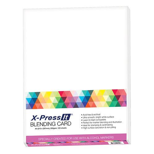 BLENDING CARD A4 - Individual Sheets