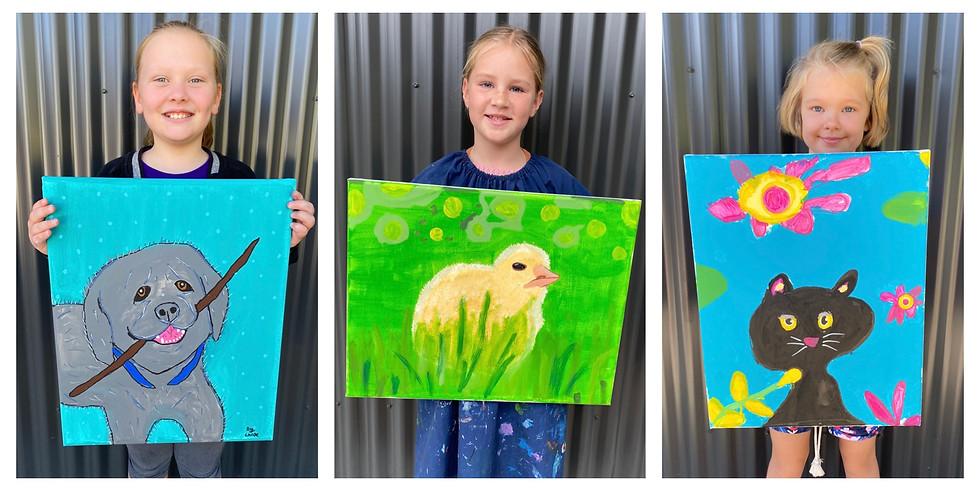 'Paint Your Pet' Class 27th November 9am- 12pm (Grades 1+)