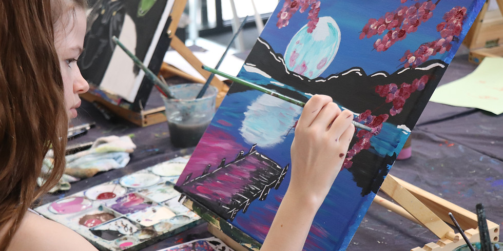 Painting Class Monday 28th Sept 9am - 12pm