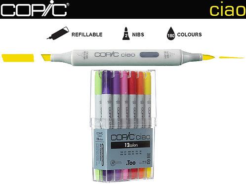 COPIC CIAO Basic Set 12