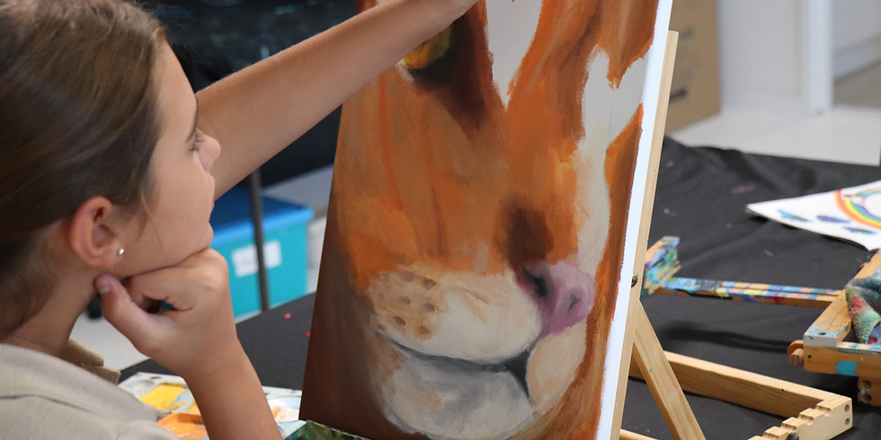 Painting Class Monday 5th July 9am-12pm (Grades 1+)