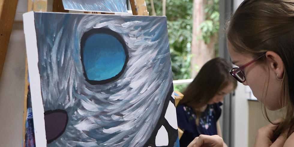 Painting Class - Wednesday September 22nd 9am-12pm (Grades 1+)