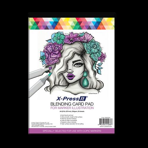 X-Press It Blending A4 Card  20 sheets