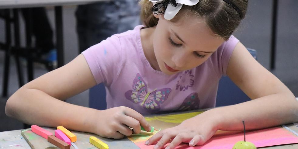 Charcoal & Soft Pastel Workshop - Sept 26th Thursday 1-4pm