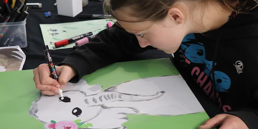 Painting Class Monday 7th Dec 9am - 12pm