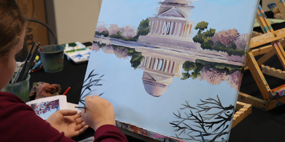 Painting Class Monday 21st Sept 9am - 12pm