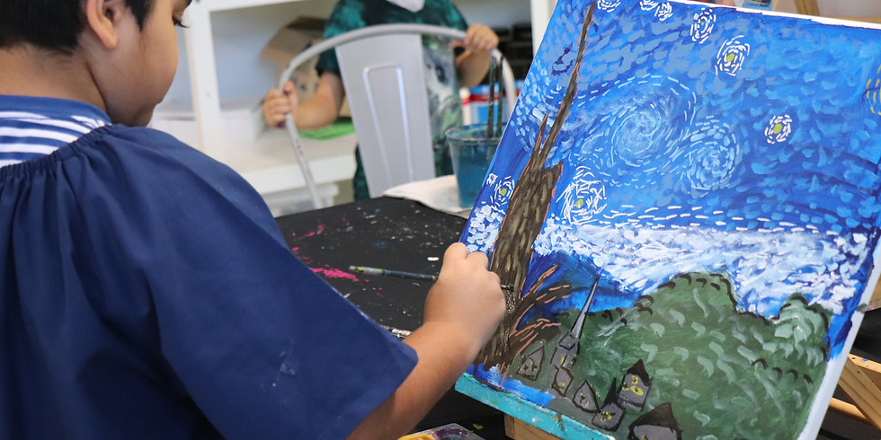 Painting Class Tuesday 6th July 1pm- 4pm (Grades 1+)